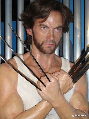 Wolverine de cera - Museu Madame Tussauds, Londres