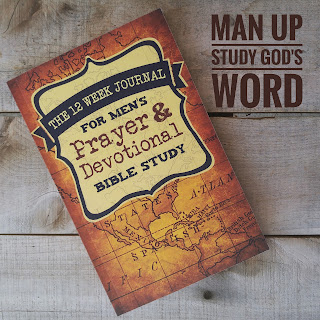 The 12 Week Journal for Mens Prayer and Devotional Bible Study at 123 Journal It Publishing
