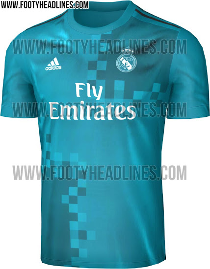 low priced 0a055 5440d Real Madrid 17-18 Home, Away And Third Kits Revealed - Footy ...