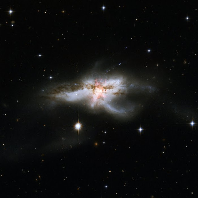 Imaging a galaxy's molecular outflow
