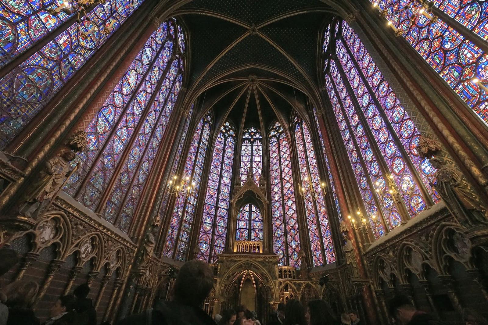 サント・シャペル (Sainte chapelle)