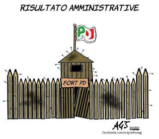 pd, amministrative, comunali, elezioni, satira, vignetta