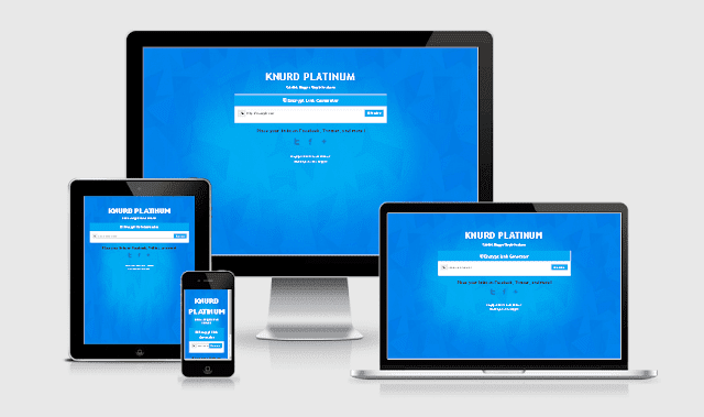 Template  blog safelink