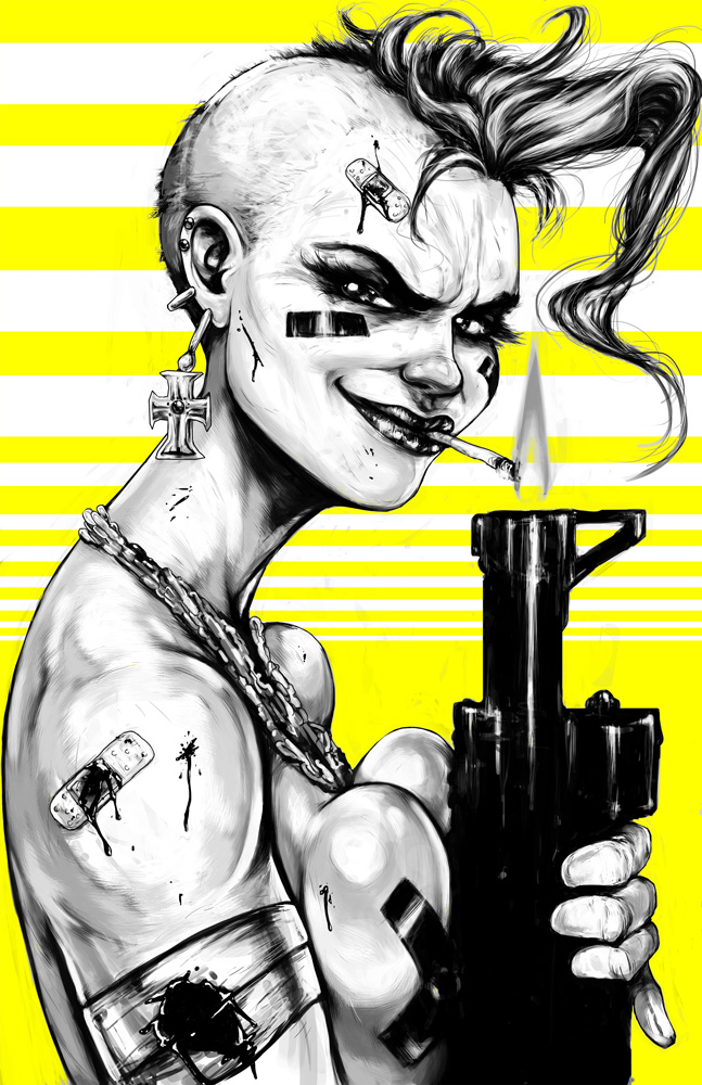 Tank Girl by Image SuarezArt