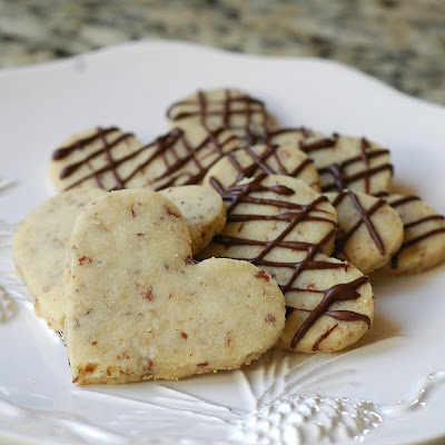 Pecan Shortbread Cookies~