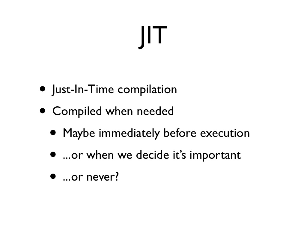 hight resolution of difference between jit and jvm in java interview question