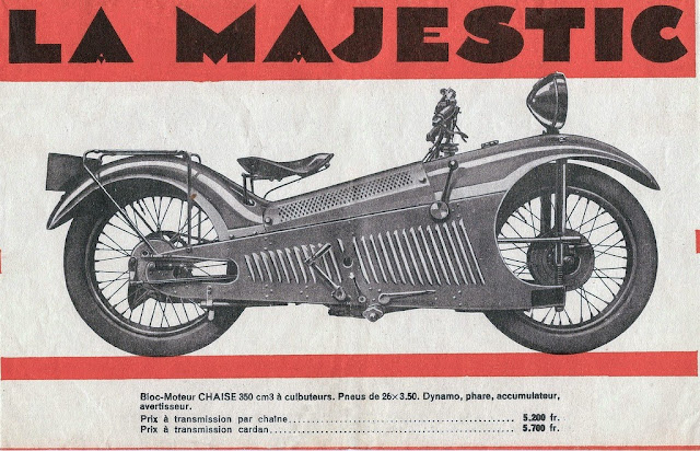 The Majestic Motorcycle Catalogue