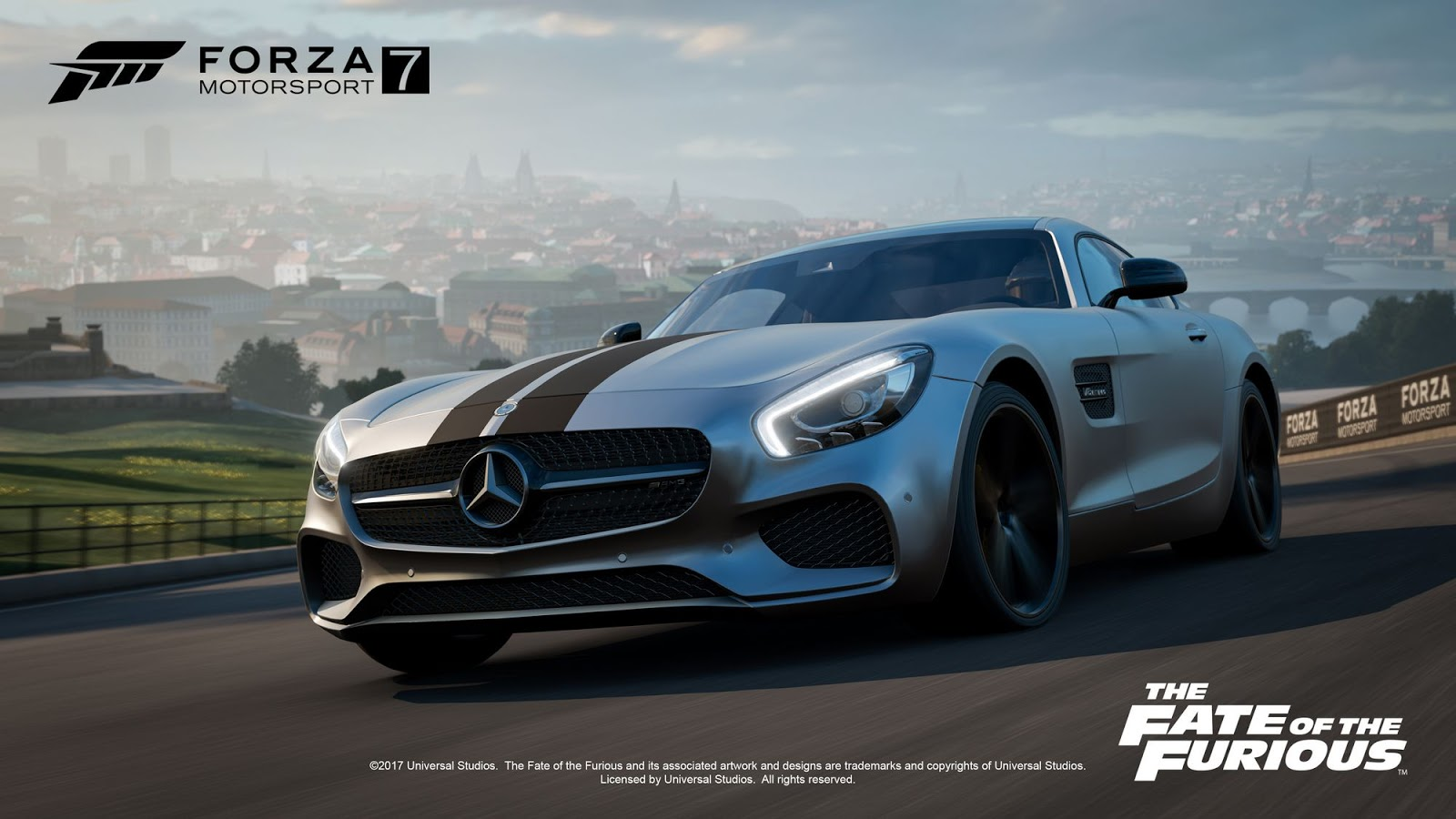 forza motorsport 7 welcomes the fate of the furious car. Black Bedroom Furniture Sets. Home Design Ideas