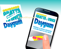 Logo Concorso ''Gratta e vinci con Daygum'' carte regalo Amazon, Decathlon e non solo!