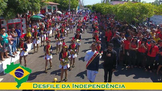 Em Anapurus e Mata Roma, parada cívica do dia 7 de setembro encanta a população.
