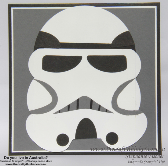 SU, Punch Art, Star Wars, Stormtrooper, Star Wars stormtrooper, Boy birthday card, handmade card