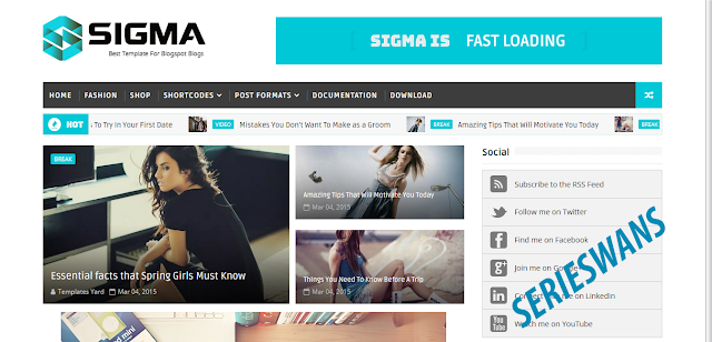 Download Template Sigma Best Blogger Responsive Gratis Terbaru