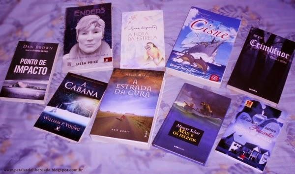 Livros azuis