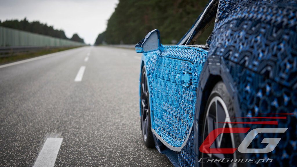 LEGO Just Made a Life-Sized Drivable Bugatti Chiron ...