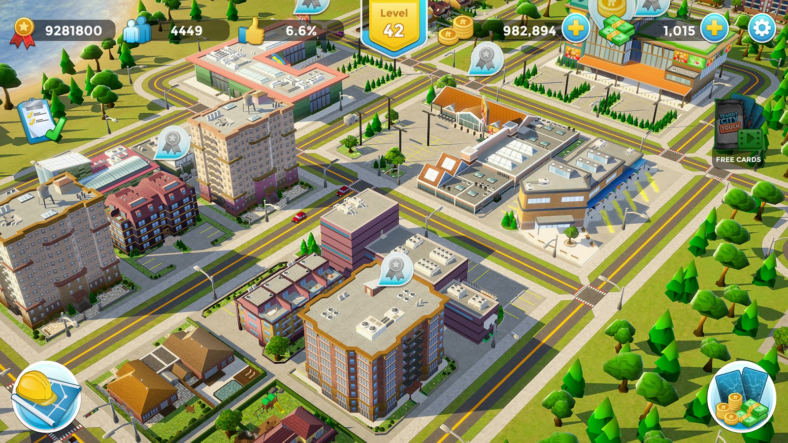 The Edge: Transit City Touch (iOS, Android)