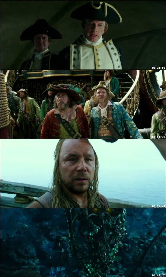 Pirates of The Caribbean Dead Men Tell No Tales 2017 Dual Audio Hindi 480p BluRay Desirehub