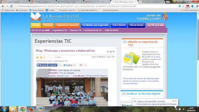 Publicamos en el CRFPTIC de Castilla y León