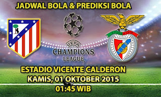 Atletico Madrid vs Benfica