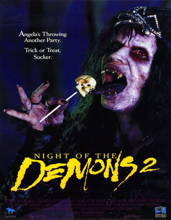 Night of the Demons 2 1994 UNRATED Hindi Dual Audio BRRip Full Movie Download