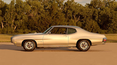 1970 Pontiac LeMans GTO Ram Air IV 400 Side Left