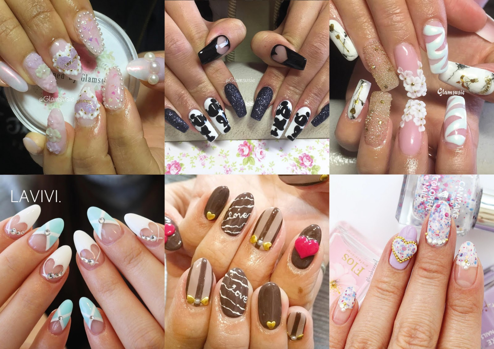 valentines day nail inspiration