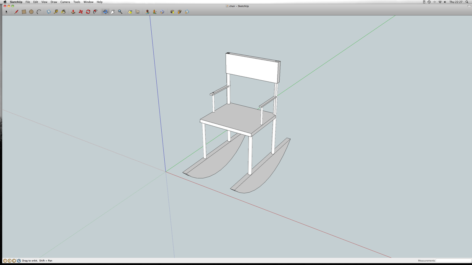 Missing people: Furniture design stage 2 / 3D Google sketchup