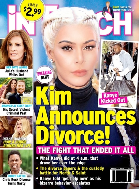 Kim Kardashian and Kanye West to Get a Divorce?