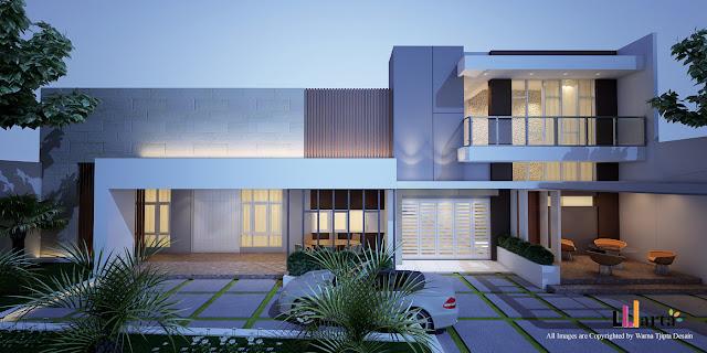 Desain Rumah Tinggal Tanjung Karang