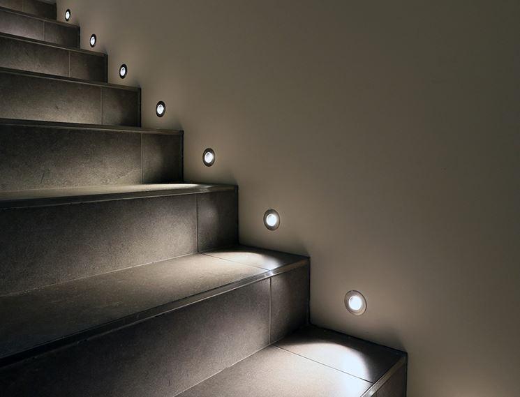 Progettazione e arredo in d illuminazione scale