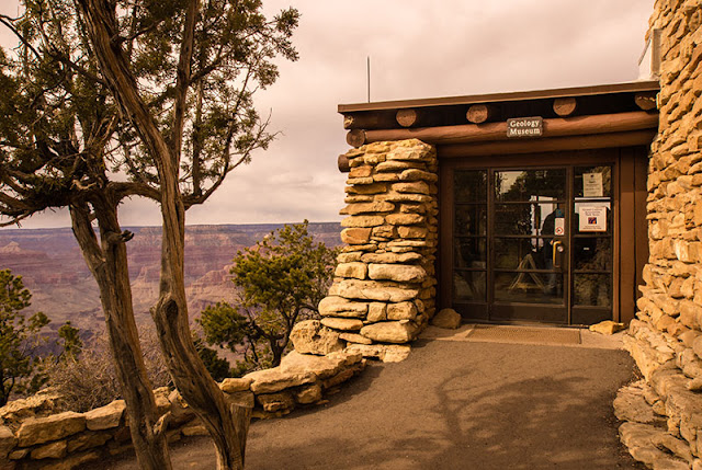 Yavapai Geology Museum no South Rim do Grand Canyon