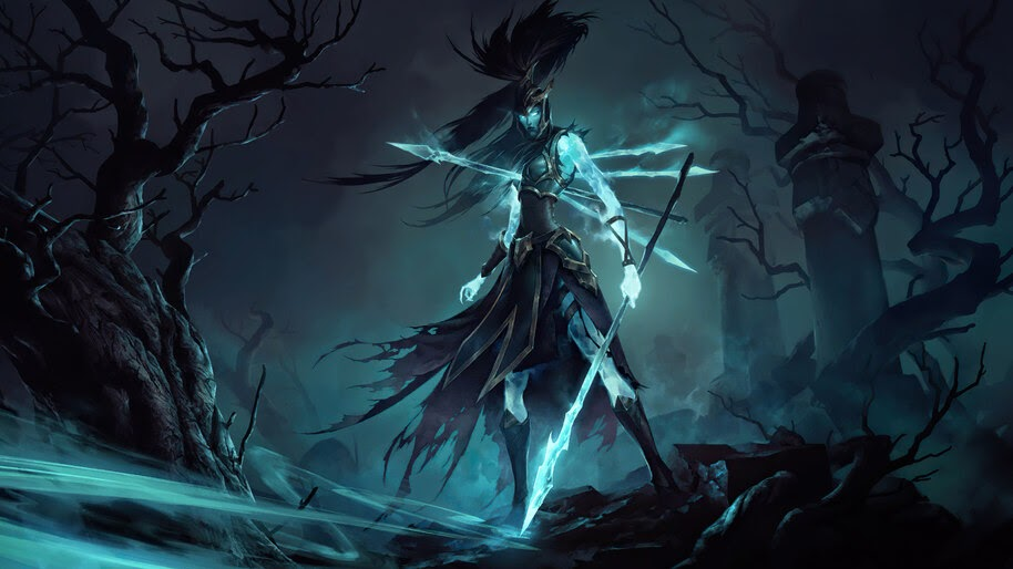 Kalista, LoL, Legends of Runeterra, 4K, #3.1769
