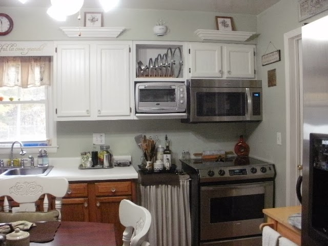 View of the Kitchen