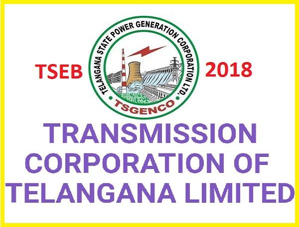 TSTRANSCO 1604 Various Jobs Vacancies 2018