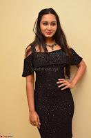 South Actress Amulya in short black dress at Kalamandir Foundation 7th anniversary Celebrations ~  Actress Galleries 019.JPG