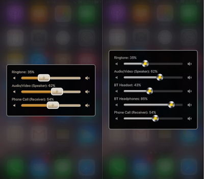 Volume Mixer 2 is a cydia tweak that allows you to control the volume of each media channel & output separately