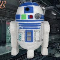 PATRON R2D2 | STAR WARS AMIGURUMI 27053