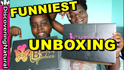 FUNNIEST KIDS UNBOXING feat. Black Butterfly Boxes | DiscoveringNatural