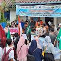 Mahasiswa Gelar Aksi Unjuk Rasa di Depan Kantor BPBD Lebak