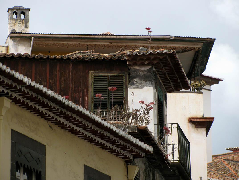 old houses in Rua das Pretas