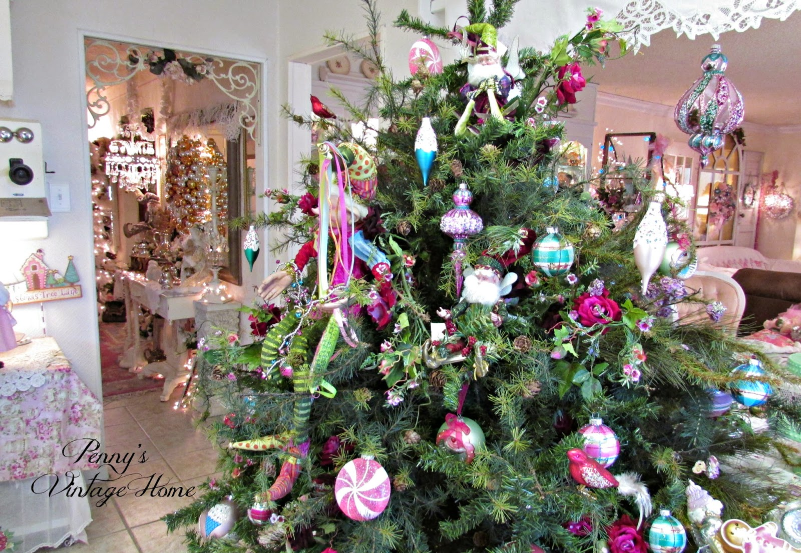 Penny's Vintage Home: Fairy Tale Christmas Tree