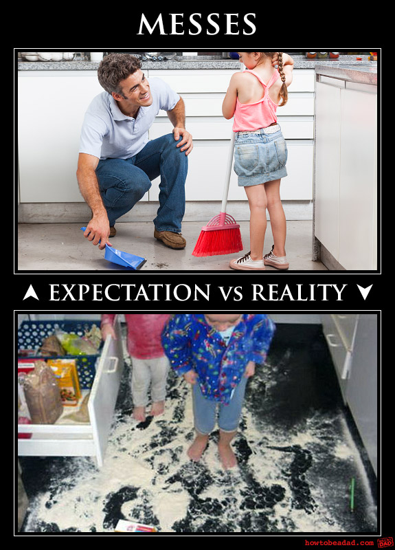 Raising a Toddler; Parents Expectations VS Reality, Lol ...