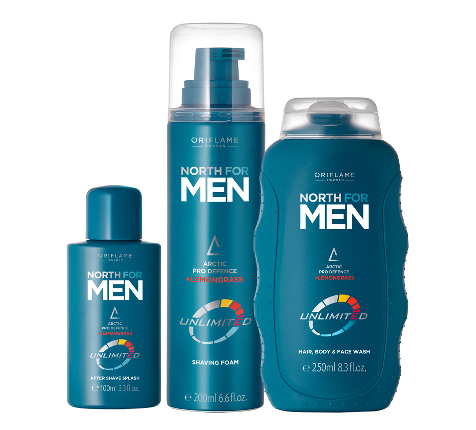 North For Men Unlimited da Oriflame