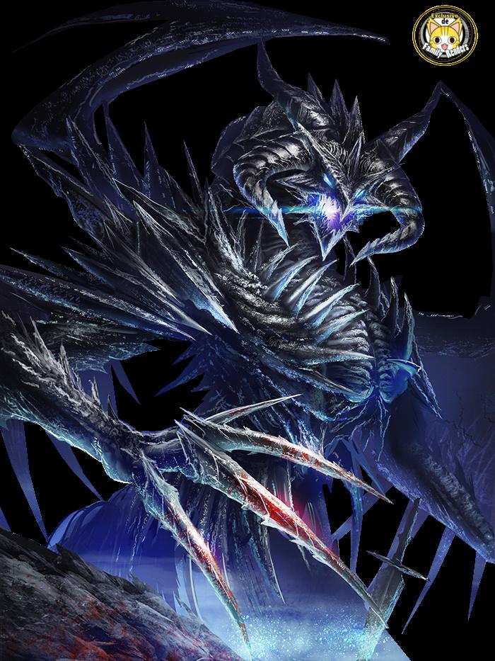 render Dark metal dragon