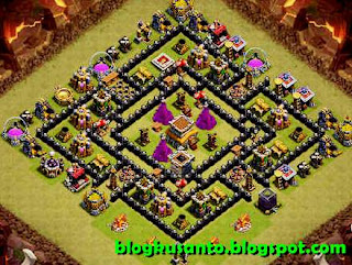 Base COC th 8 Anti Naga 01