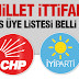 Millet İttifakı Bozkır Meclis Üyesi Adayları