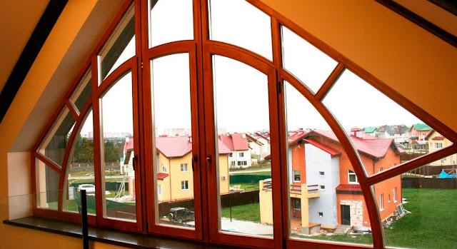 Загородные окна