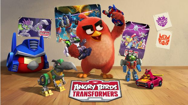 Angry Birds Transformers Screenshot 1