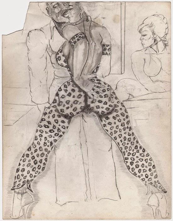 William Crawford Untitled, 1990's Pencil on paper 28 x 21.5 cm
