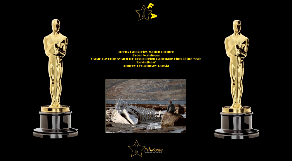 oscar favorite best foreign language film award leviathan