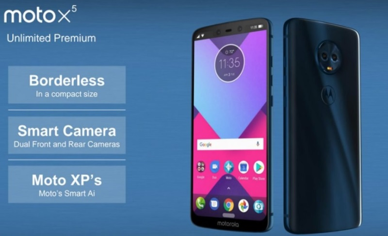 Moto X5 Leaked; Features iPhone X-Like Notch, 18:9 Display, Quad Cameras
